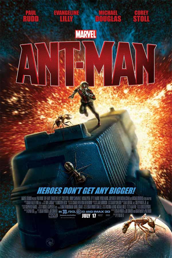 Poster Fan-Art de Ant-Man