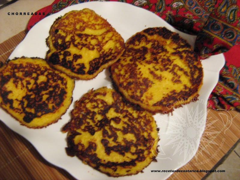 Cocina costarricense chorreadas cosposas