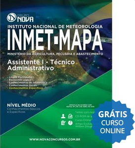 Apostila Concurso INMET-MAPA 2015 (Grátis Curso Online)