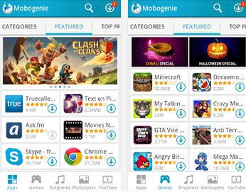 mobogenie app store best similar app store to google playstore for android smartphone