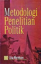toko buku rahma: buku METODOLOGI PENELITIAN POLITIK, pengarang lisa harrison, penerbit kencana