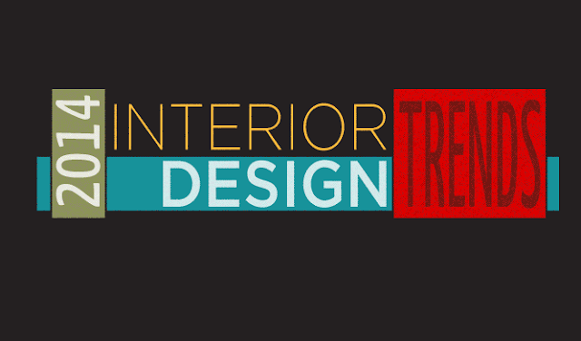 2014 Interior Design Trends Infographic Visualistan