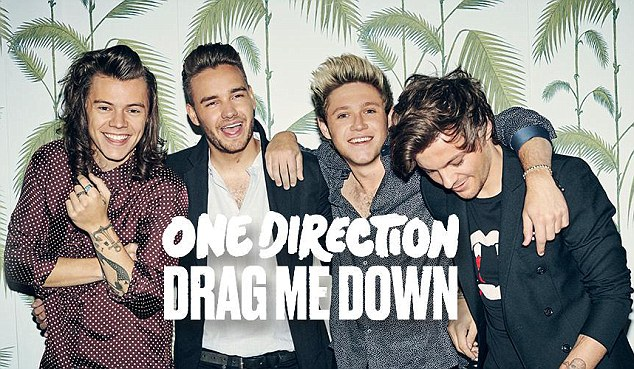 Love Drag Me Down Music Video - One Direction