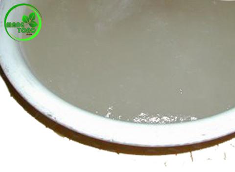Lem dari tepung kanji / aci singkong