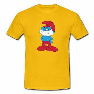 koszulka Papa Smurf