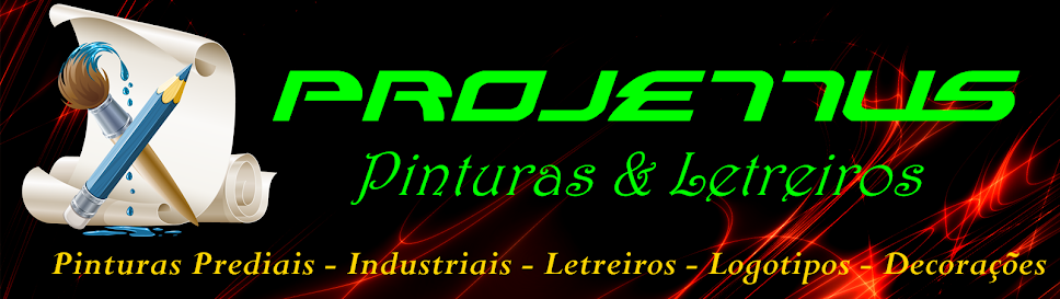 PROJETTUS PINTURAS & LETREIROS