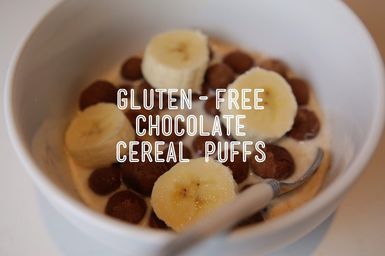 Gluten-free chocolate cereal puffs