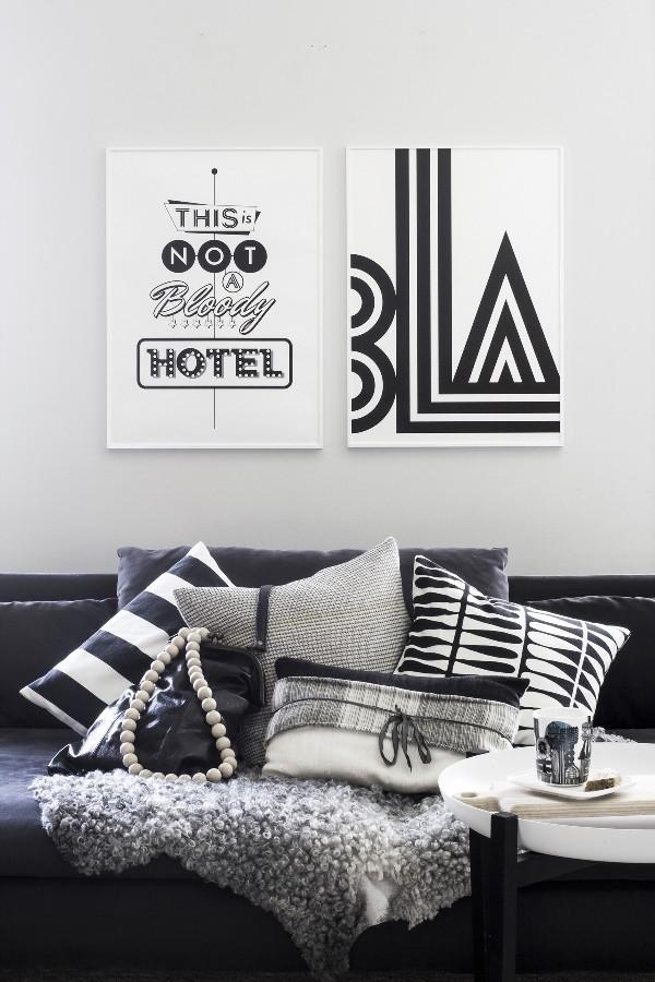 L minas tipogr ficas para decorar la garbatella blog de for Laminas decoracion estilo nordico