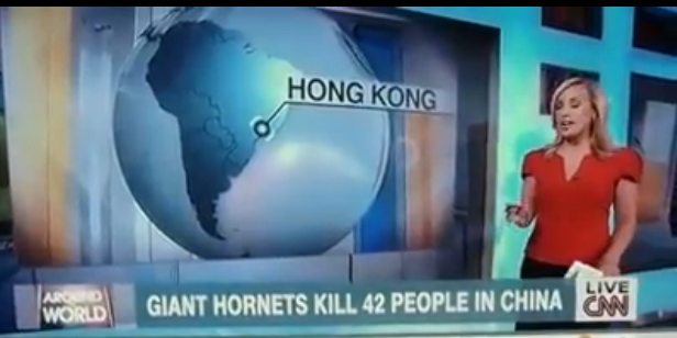 Watch CNN blunder as news network map shows Hong Kong in South America