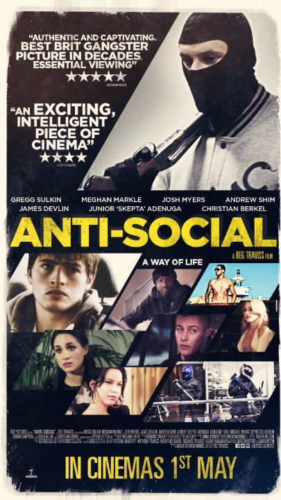 poster Chống đối xã hội