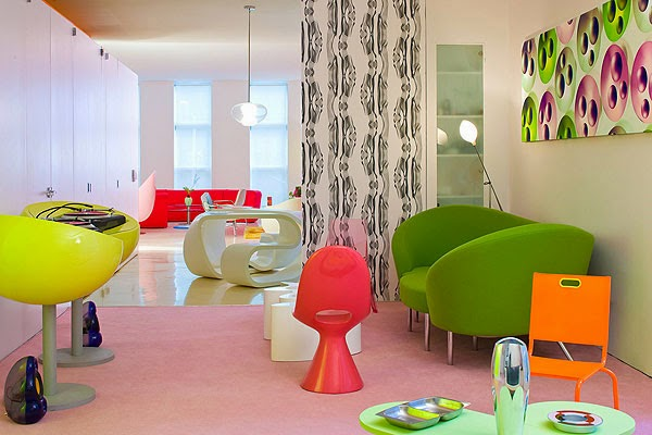 Decoración de Loft en New York por Karim Rashid 5