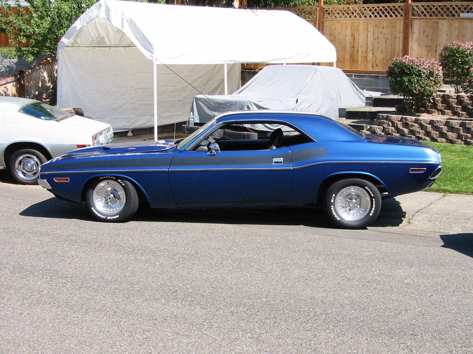 71 Challenger Restoration: Photos of 71 Challenger Resto