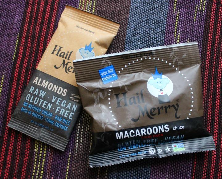 Hail Merry Vanilla Maple Almonds Hail Merry Choco Macaroons