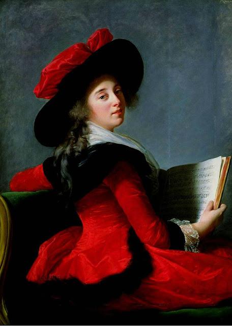 La Baronne de Crussol Elisabeth Vigee-Lebrun