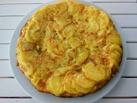 Tortilla Dulce De Manzanas