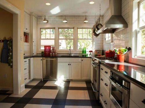 Motif Keramik Dapur Minimalis Mungil