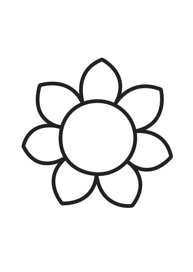 get big flower coloring pages and make this wallpaper for your desktop tablet or smartphone device for best results you can choose original size to be - Simple Flower Coloring Pages