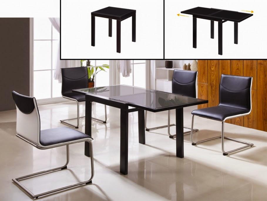 Muebles modernos mesas de comedor parte 1 for Mesas para muebles modernas