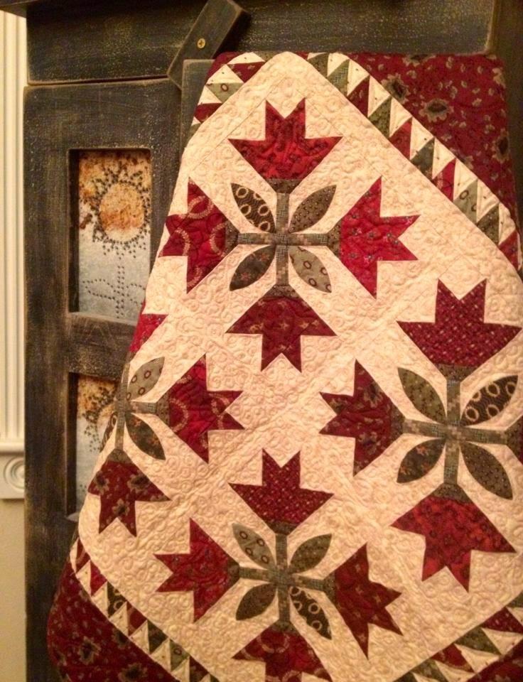 Karen's Quilts, Crows and Cardinals: Simple Whatnots... Kim Diehl ... : kim diehl quilts - Adamdwight.com