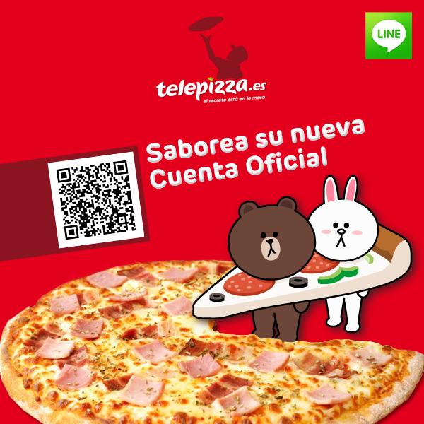 cuenta oficial en line de telepizza