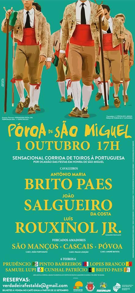 PÓVOA DE S. MIGUEL - 1 DE OUTUBRO