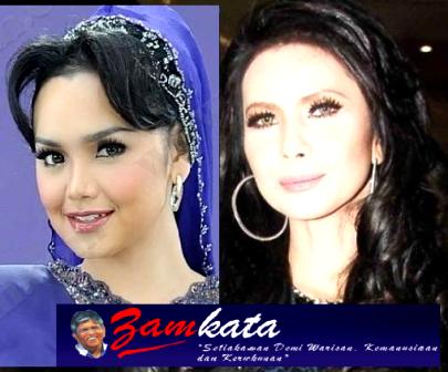 Siti Nurhaliza Merbahaya Kepada Najib?