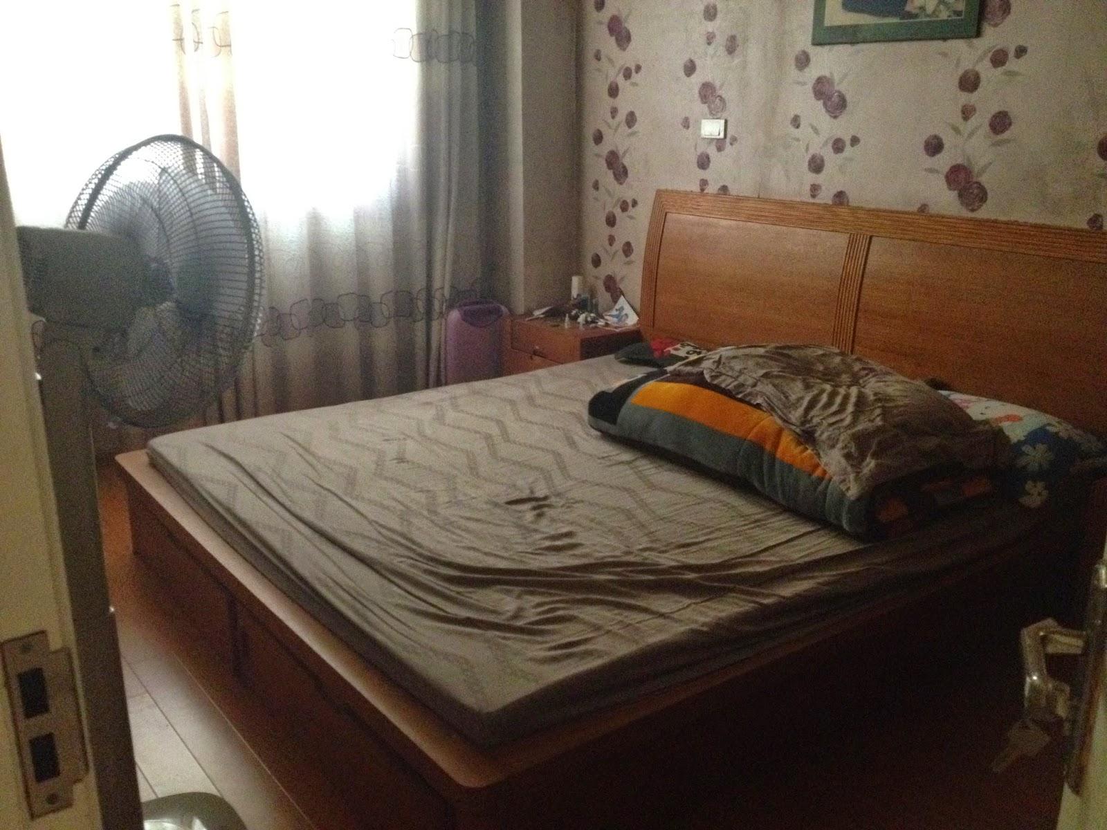 Phòng ngủ căn hộ chung cư giá rẻ C5 Khu Đô Thị Mỹ Đình 1
