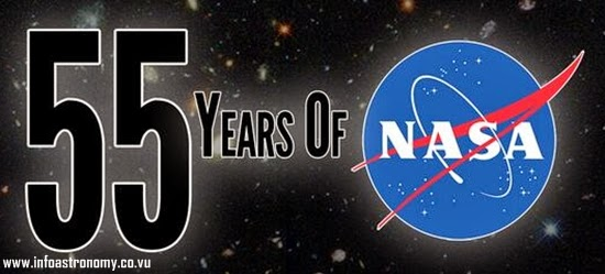 NASA Rayakan Hari Jadinya yang ke-55 Tahun Hari Ini
