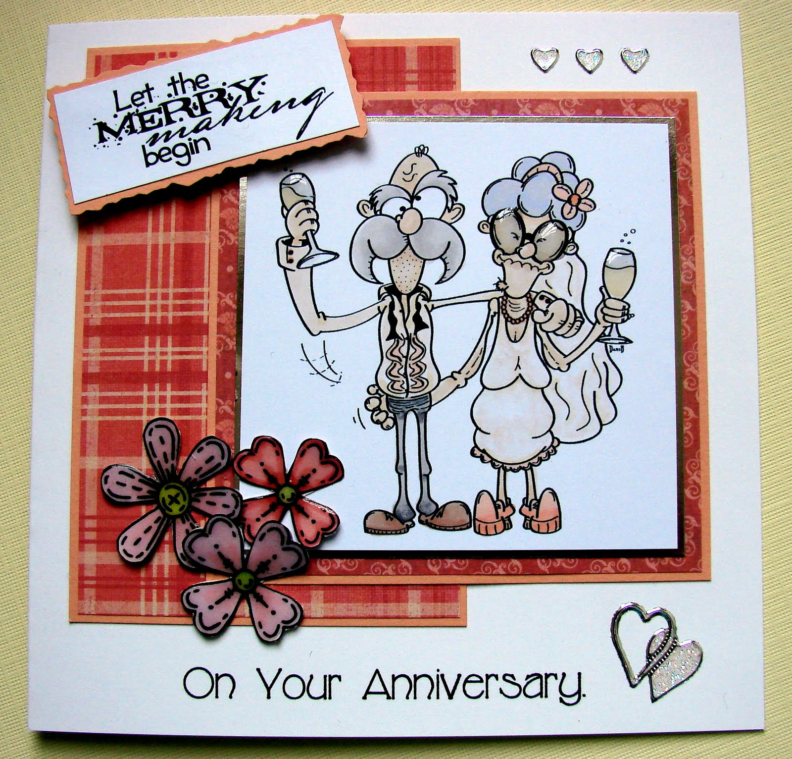 ON THE CARDS: Funny Anniversary Card.