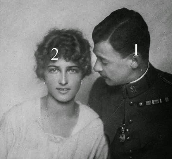 Maximilian d'Autriche et Franziska zu Hohenlohe-Waldenburg-Schillingsfürst
