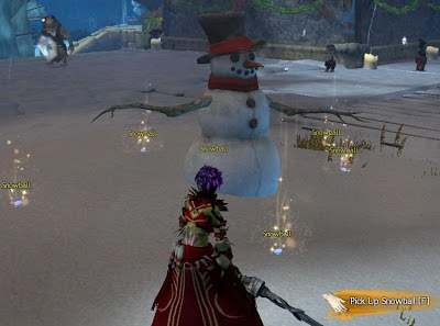 GW2 Guild Wars 2 Wintersday snowball fight magic snow