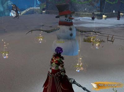 GW2 Guild Wars 2 Wintersday snowball fight magic snow