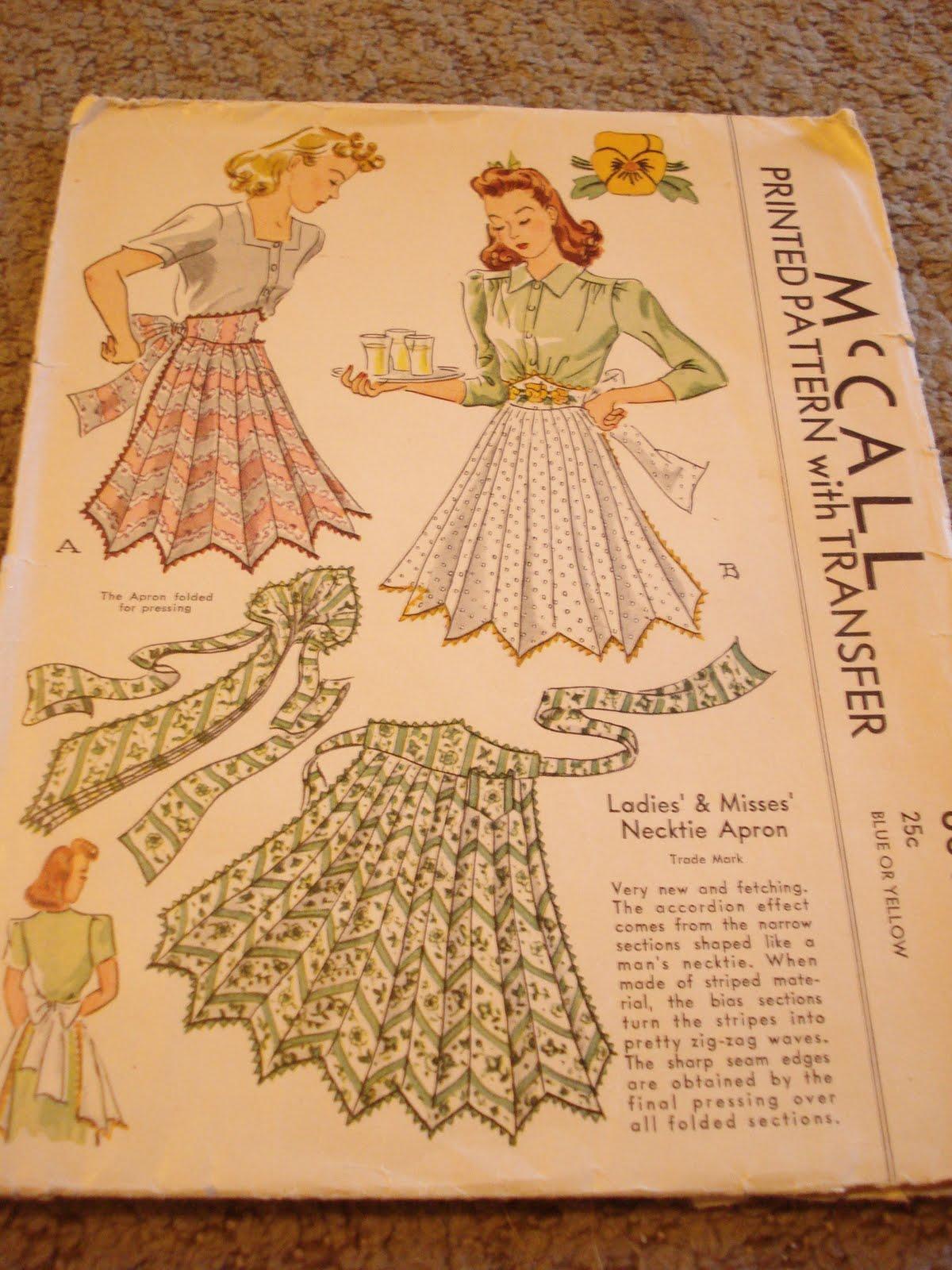 Vintage Apron Patterns Unique Inspiration Design