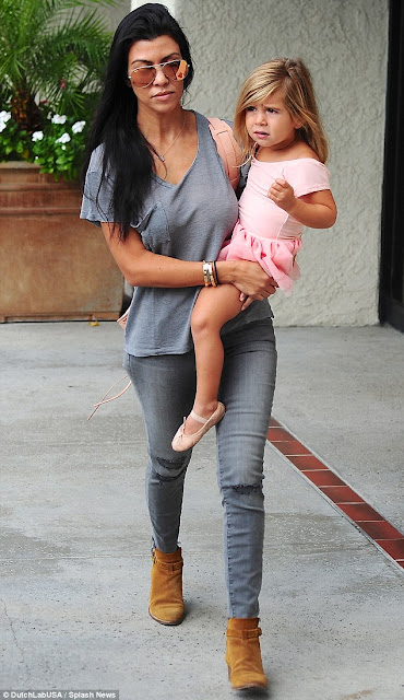 Penelope Disick & Kourtney Kardashian