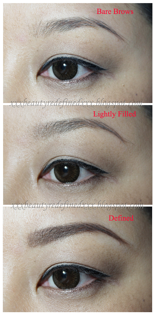 Beautyredefined By Pang Mac Velux Brow Liner Review Swatches