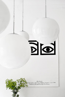 Livet i mitt lilla hus: Lampor till köket