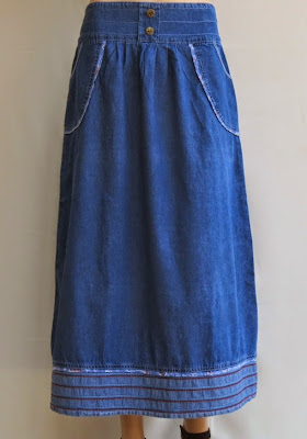 Skirt Jeans Labuh RM327-2