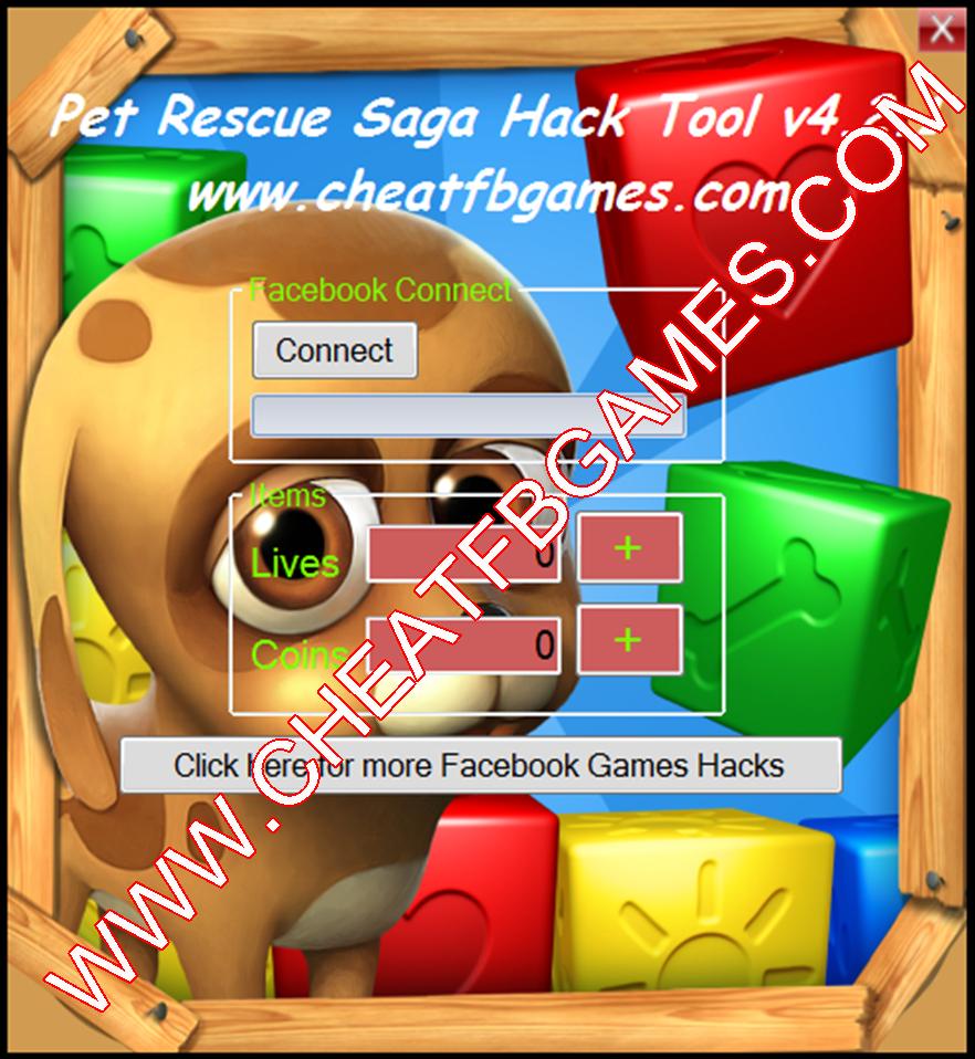 Pet Rescue Saga Hack Cheat Tool V4 2.1