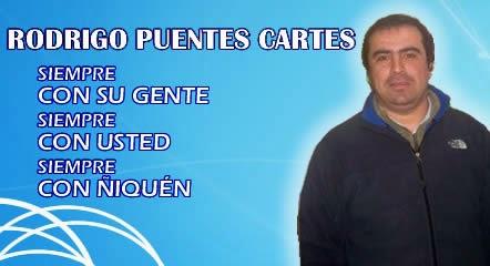 CONCEJAL RODRIGO PUENTE DE ÑIQUÉN