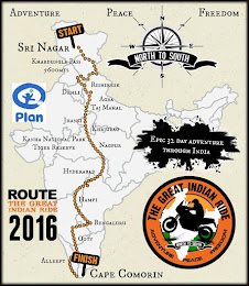 CHARITY RIDE -THE GREAT INDIAN RIDE