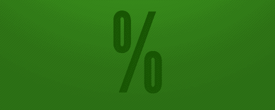 The percentages