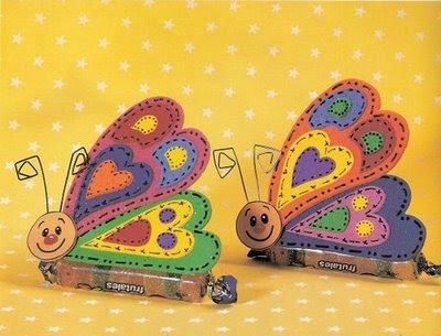 Lembrancinhas   Jujubas  Borboletas Em Eva   Molde Para Sua Festa