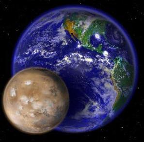 Life on Earth-Mars photo [Image source- Dailymail]