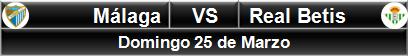 Málaga vs Real Betis