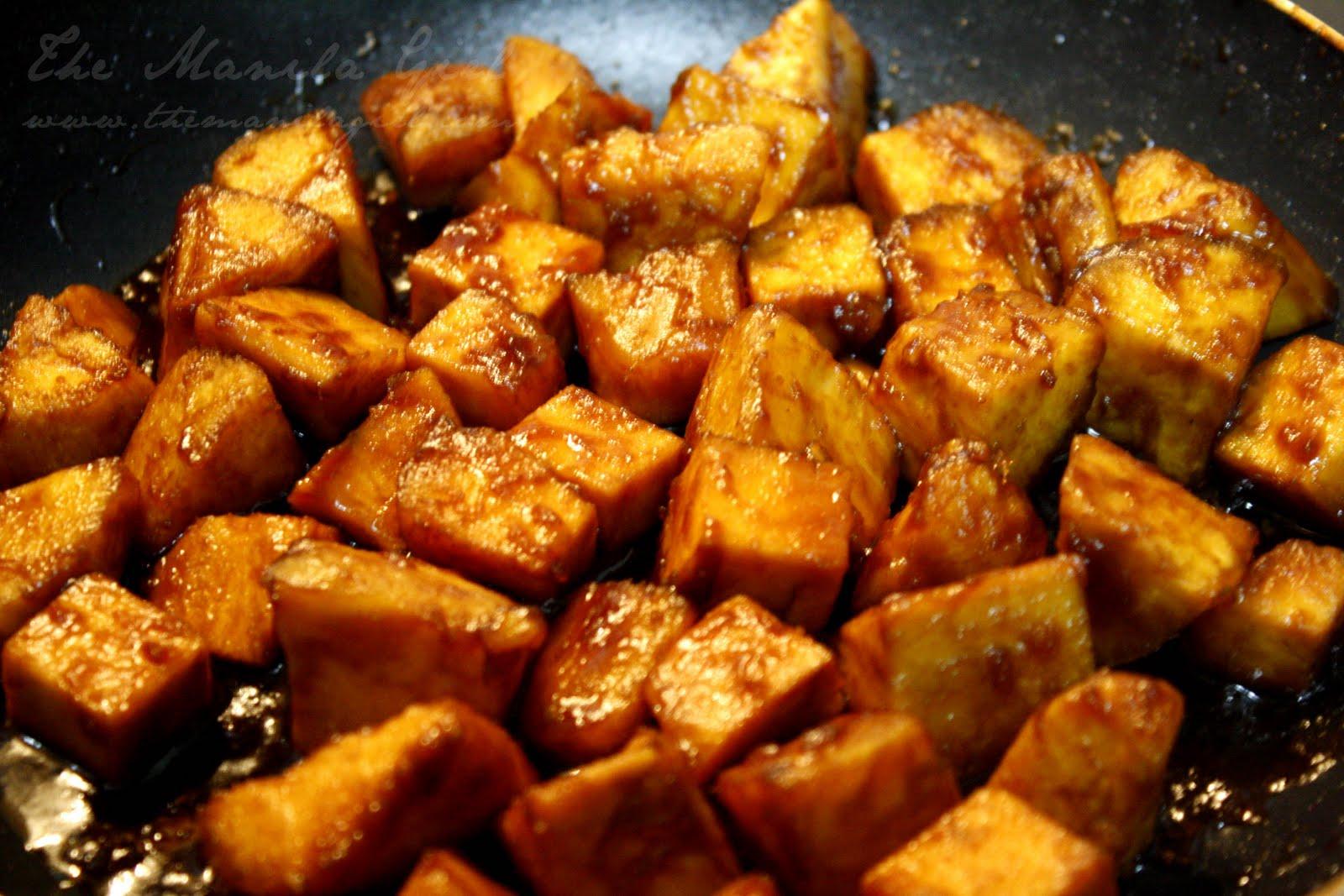 The Manila Girl: Diet Day: Glazed Sweet Potato