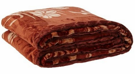 Big Bazaar 3Kg Printed Mink Double Bed Blanket