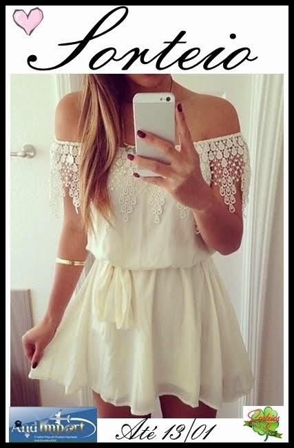 Sorteio Vestido