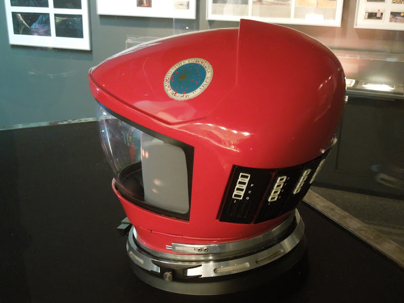 2001 A Space Odyssey Dave Bowman helmet