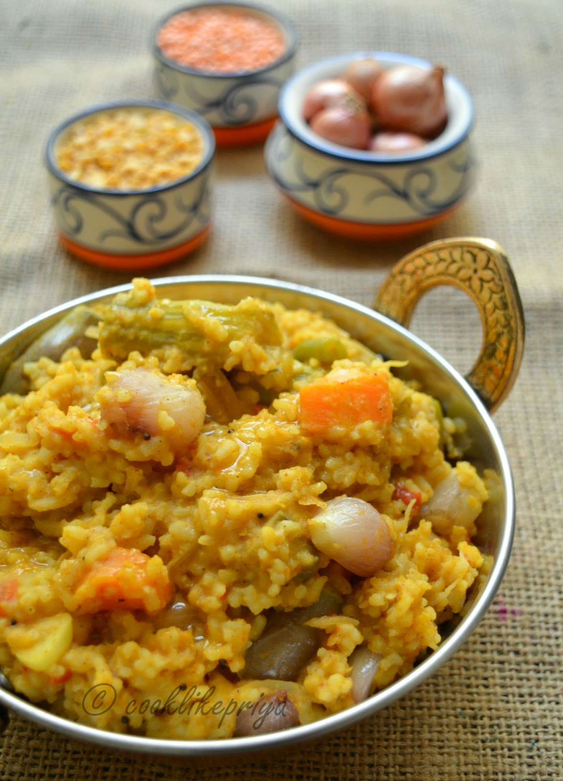 Easy Sambar Sadam Recipe