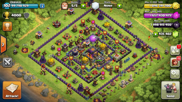 Clash of Clans Unlimited Mod/Hack v7.200.13 Apk (Clans Introduced)